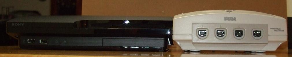 PS3 Slim Ultimate Size Comparison | Game Usagi