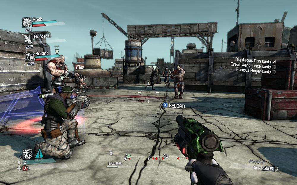 Shooting Games For Xbox 360 : Wr borderlands xbox ps pc game usagi