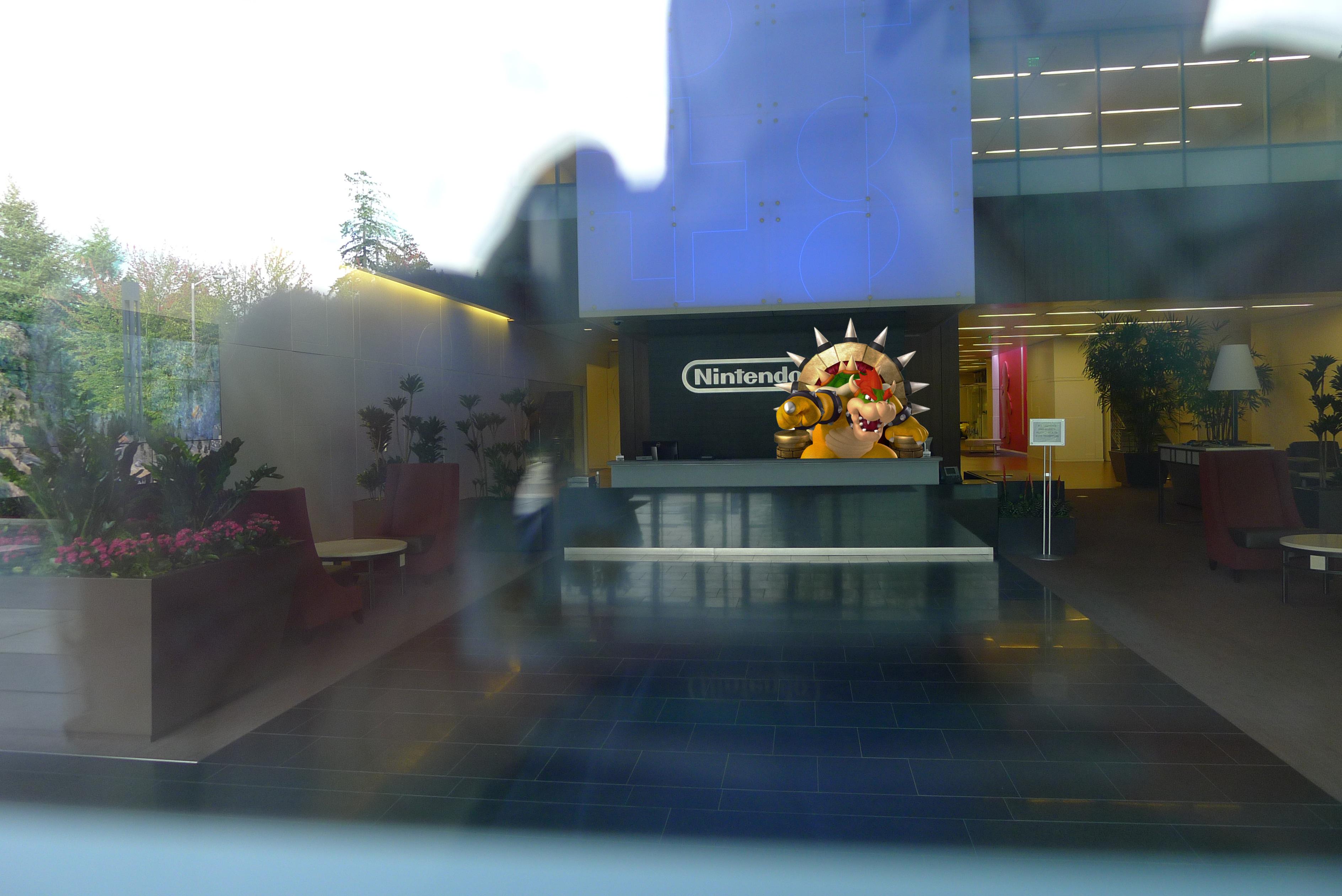 Nintendo Of America Hq Visit 2014 Game Usagi